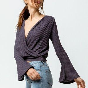 O'NEILL Women's Cayenne Knit Wrap Top